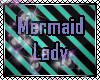 Mermaid Lady Swim