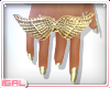 ►Gold Wings .Ring