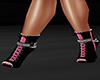 GL-Zita Pink/Black Boots