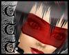 TTT Blindfold Sheer Red