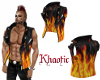 Fire leather vest