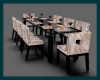 � DINING TABLE FOR 8