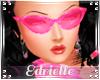 E~ 70's Pink Glasses