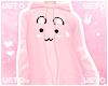 U. Bunny Hoodie Pink