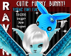 BABY BLUE FUNNY BUNNY!