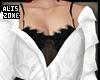 [AZ] W&B blouse
