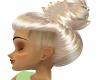 Blond Updo