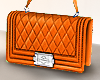 ♛ Mila Orange Purse