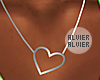 C | SilverHeart Necklace