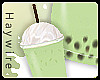 :Bubble Green Milk Tea