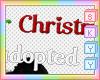 Kid Christmas Adopt Sign