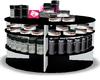 mac makeup table