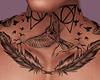 Neck Tattoo I
