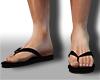 N| Black Flip Flops