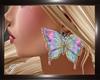 (T)Earrings butterfly