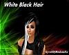 White Black Hair