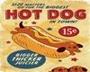 DEV vintage hot dog fram