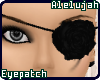 A* Black Rose Eyepatch