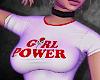 -A- Girl Power Crop Top