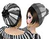 Crea Gray Hat+Pompom