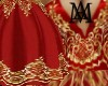 *Red&Gold Gown*