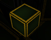 Green and Gold Cube