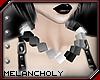 Cubes Necklace: Monotone