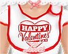 💕 valentine bib