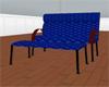 Blue 3 Person Chair