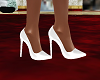 Spring White Heels