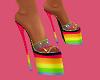 (L) RAINBOW Heels