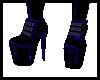 Toxic PVC Boots-blue