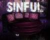 SINFUL cuddle couch