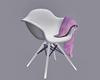 ! Modern White Chair ~