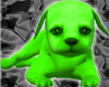 [AM]Cute Green Dog
