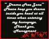 Drama Free Sticker 2