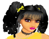 !K69! Blk Curl Yellow B