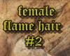 female flame hair#2