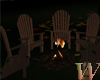 OutDoor Chairs/Fire