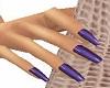 Julia Purple Nails