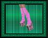 (WW)PINK PUNK STAR BOOTS