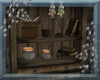 MW~Hedgewitch Herb Shelf