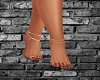 Sexy Jeweled Bare Feet