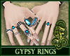 Gypsy Rings Blue
