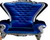 BLUE VELVEET CHAIR