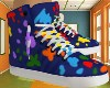 Boy Paint Shoe