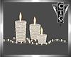 CTG 3 CANDLES & LIGHTS