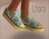 Aqua Spring Sneakers