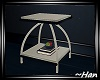 Midnight Blue End Table