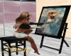 She Shed Painting Easel